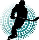 New hockey players (symbol) Royalty Free Stock Photography