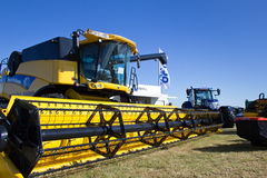 New Holland Combine harvester Royalty Free Stock Photos