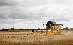 New Holland Combine Harvester Royalty Free Stock Photo