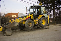 New Holland excavator Royalty Free Stock Image