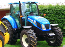 New Holland Farm Tractor Stock Images