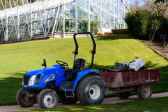 New Holland TC27D blue farm tractor Stock Photography