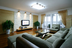 New home in Beijing. Live in a comfortable home feeling very good Stock Images