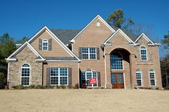 New Home Building Stock Photo