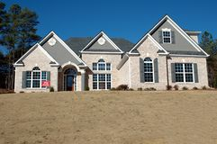 New Home Building Royalty Free Stock Photo