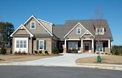 New Home Building Royalty Free Stock Images