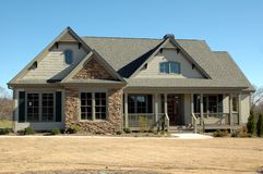 New Home Building royalty free stock photos