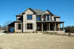 New Home Building royalty free stock photography
