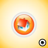 New home Button Royalty Free Stock Photos