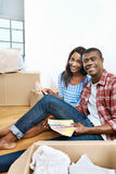 New home choices Stock Images