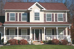 New Home - Colonial 6 Stock Image