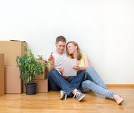 New home concept. Stock Photography
