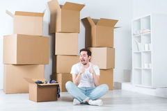 New home concept. Royalty Free Stock Photo