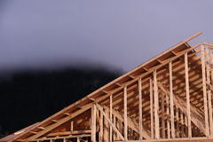 New home construction 1 Royalty Free Stock Image