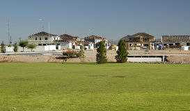 New home construction. New home being built in a residential area Stock Images