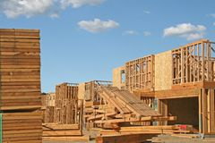 New Home Construction Royalty Free Stock Photography