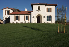 New Home Construction Facade Royalty Free Stock Image