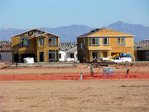 New Home Construction four Royalty Free Stock Images