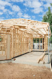New home construction framing. Stock Images