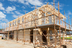 New home construction framing Stock Photo