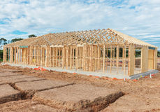 New home construction framing. Stock Photography