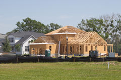 New Home Construction Royalty Free Stock Image