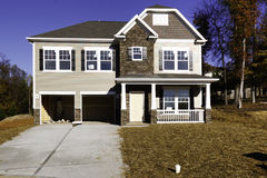 Free New Home Construction - Nearly Complete Stock Image - 20914531