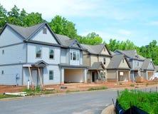 New Homes Construction Stock Photos