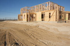 New Home Construction Site Royalty Free Stock Photo