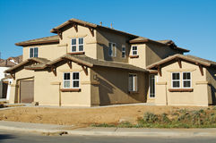 New Home Construction & Yard Royalty Free Stock Images