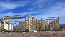 New home constuction Royalty Free Stock Photo