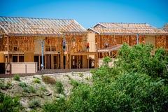New Home Development Stock Image