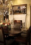 New home dining room stock image