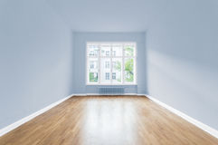 New home, empty room ,  painted  walls Royalty Free Stock Photography