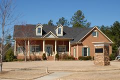New home exterior Stock Image