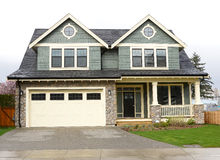 New Home Exterior Royalty Free Stock Photo