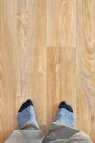 New home floor texture Royalty Free Stock Image
