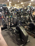 New home gym machines for sale Royalty Free Stock Image