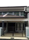 New Home House Exterior Stock Photos