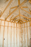 New home insulation Stock Photos