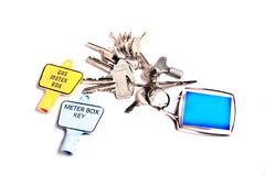 New home keys Stock Photos