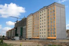 New home (landscape). Building site Stock Photo