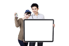 New home owners Stock Photography