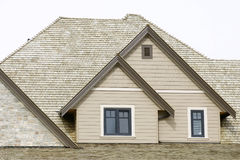 New Home Roofing Detail stock images