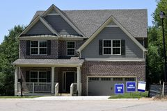 New home for sale, Georgia, USA Stock Photography