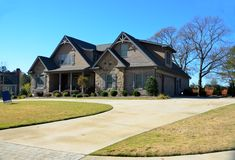 New home for sale Royalty Free Stock Images