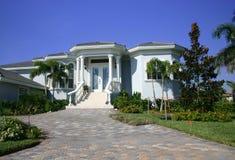 New Home in Tropics stock photo