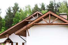 New home trusses Royalty Free Stock Photography