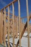 New Home Under Construction stock photos