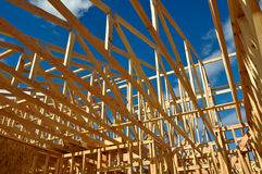 New Home Under Construction Royalty Free Stock Images